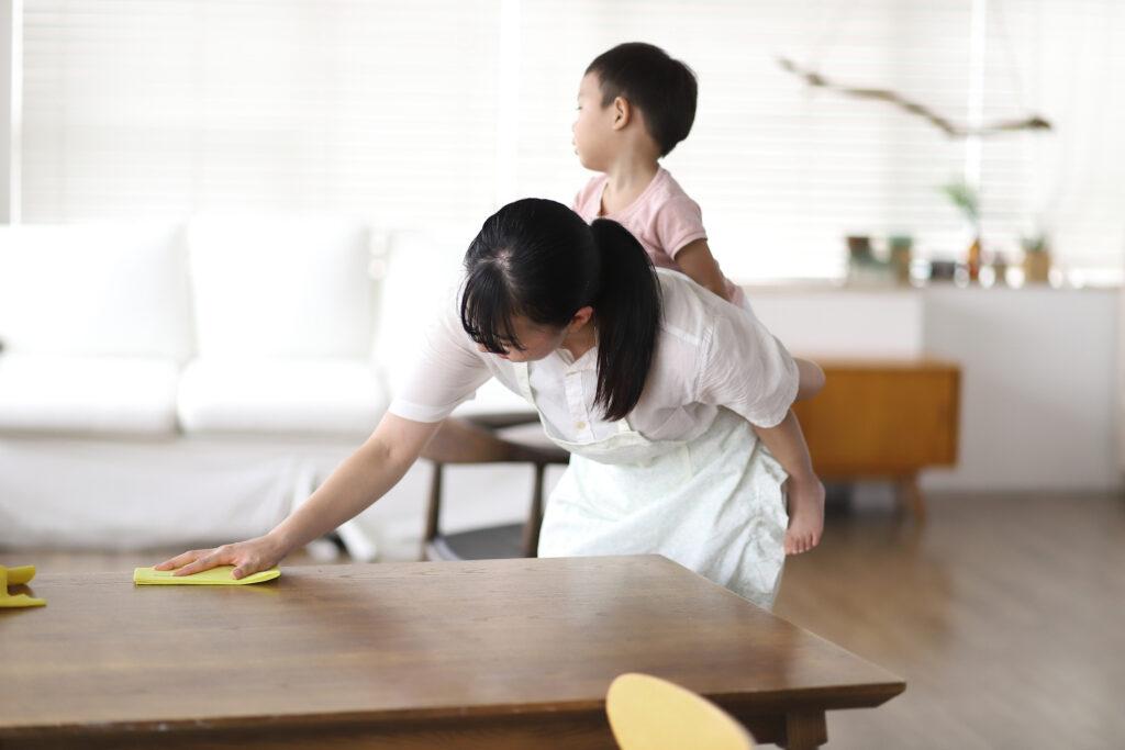 子育て・家事の負担