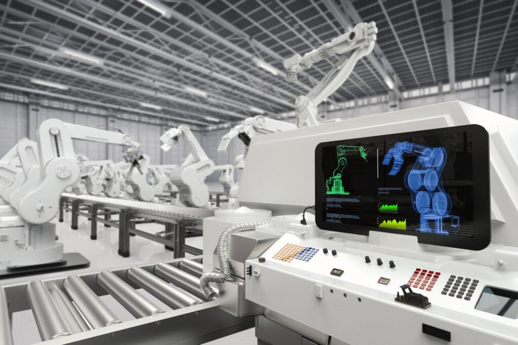 機械設備の技術発展による大量生産