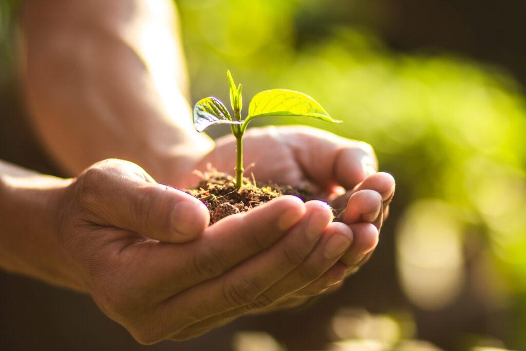 環境への負担を減らし、資源を大切に使う