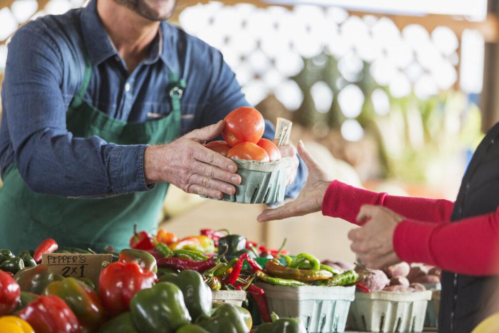 地産地消が農産物のロスを減らす鍵